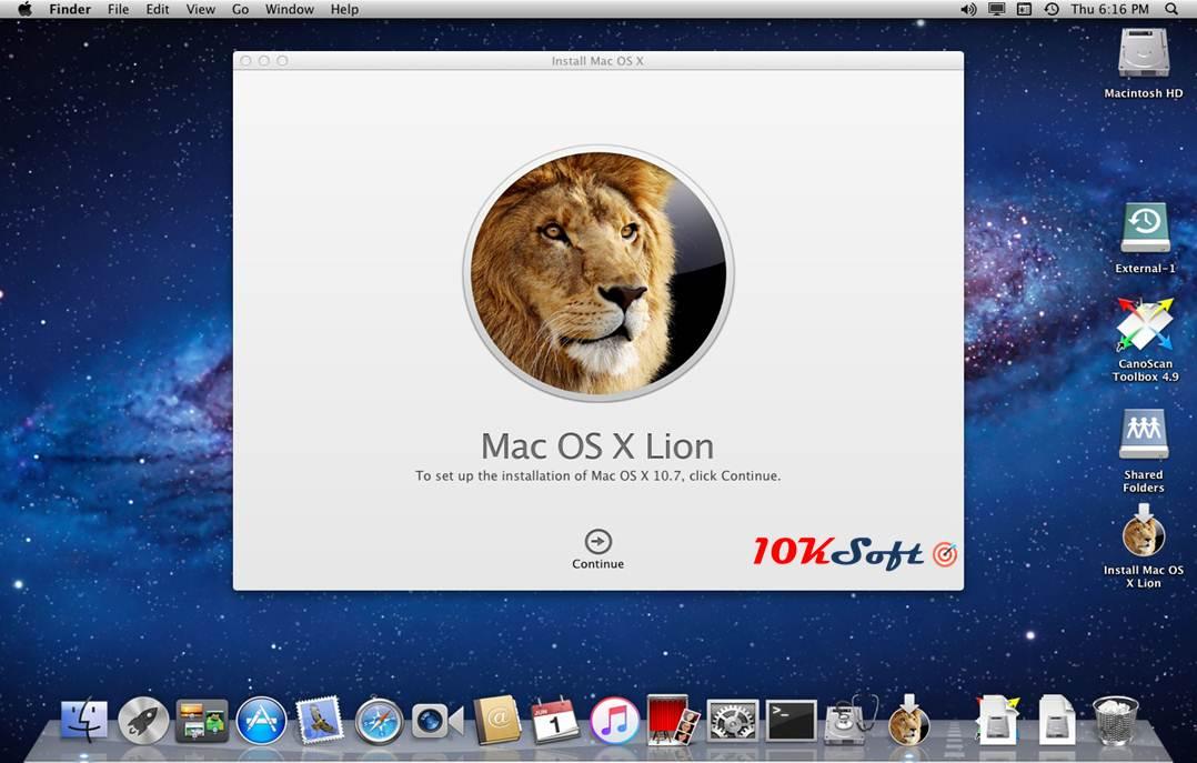 Mac OS X Lion v10.7.5 DMG Latest Version Download