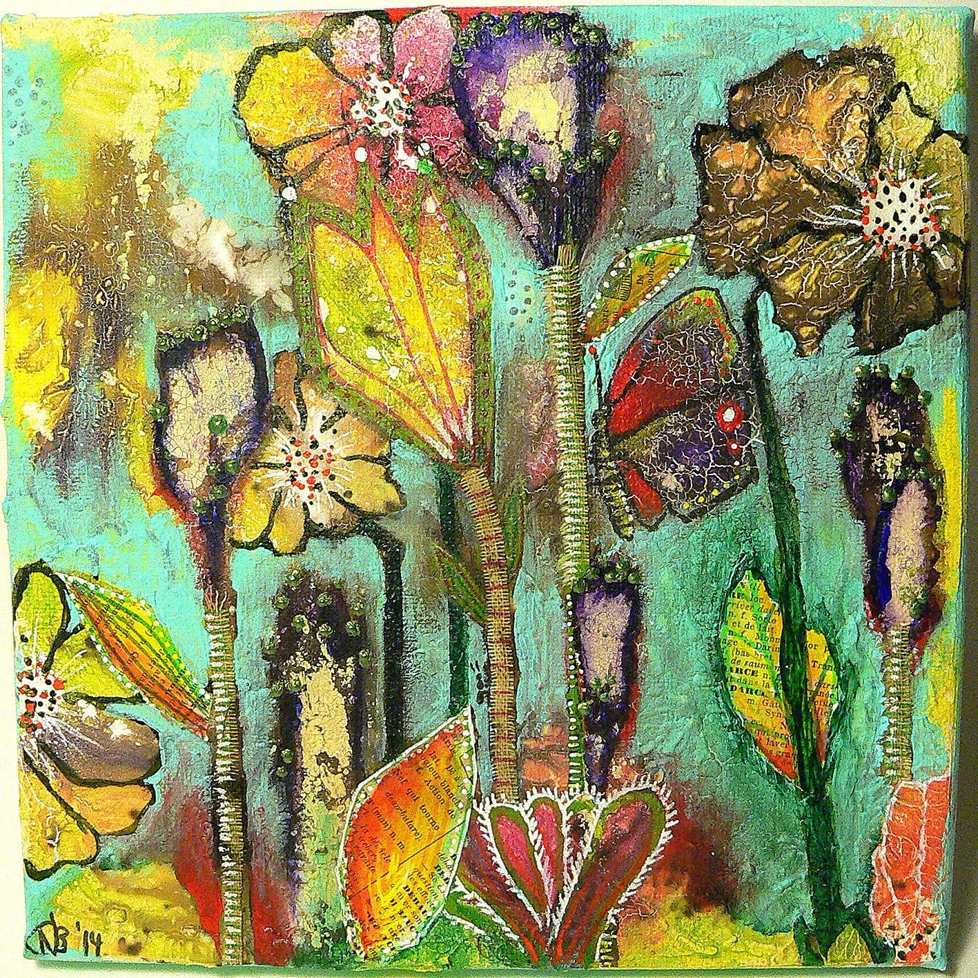 http://www.decoart.com/mixedmediablog/project/216/flowery_meadow_canvas