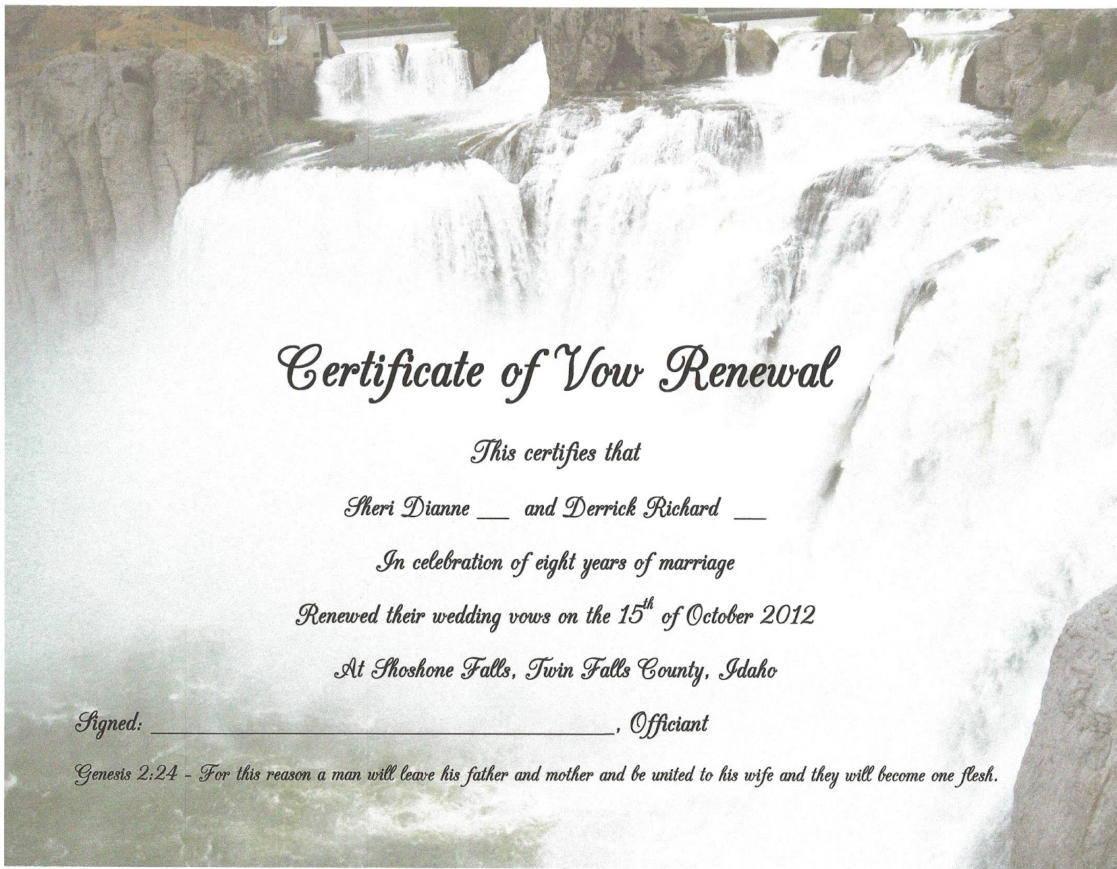 Renew Your Wedding Vows in all 50 States