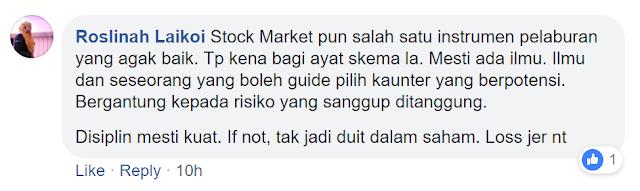 Stock Market/Pasaran Saham