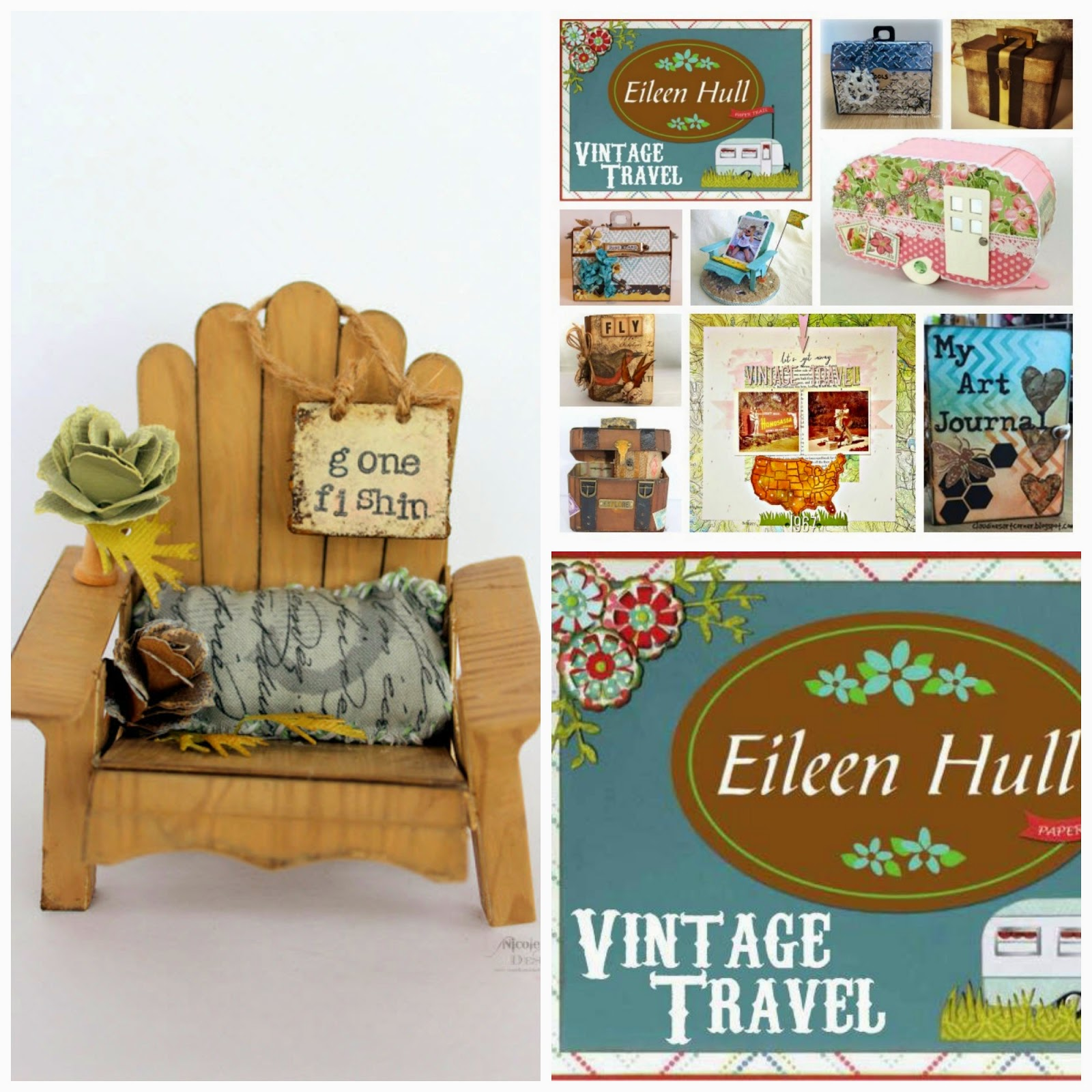 Vintage Travel CHA Release- Adirondack Chair
