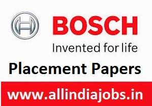 Robert Bosch Placement Papers