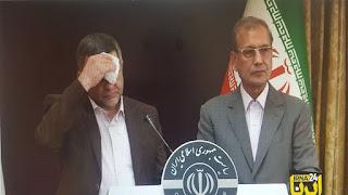 بالفيديو :نائب وزير الصحة الإيراني في مؤتمر صحفي وهو تظهر عليه علامات الإصابة بفيروس كورونا