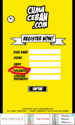 password cumaceban