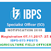 IBPS 875 Posts Agriculture Field Officer Notification 2018