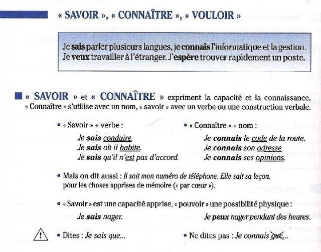 Savoir czy connaître? - porównanie czasowników 1 - Francuski przy kawie