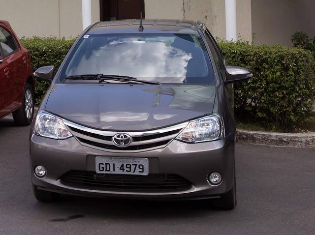 Novo Toyota Etios 2017 Automático