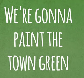 The Script Lyrics - Paint The Town Green