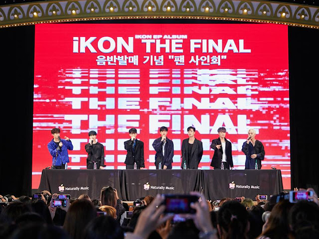 "iKON Fansigning Event ""Goodbye Road"" in Jamsil (HQ Photos)"