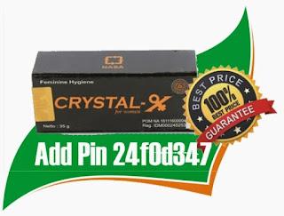 Jual Crystal X di Balikpapan