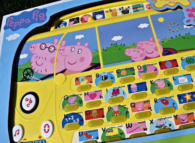 Peppa Pig Alphaphonics Campervan | A Review