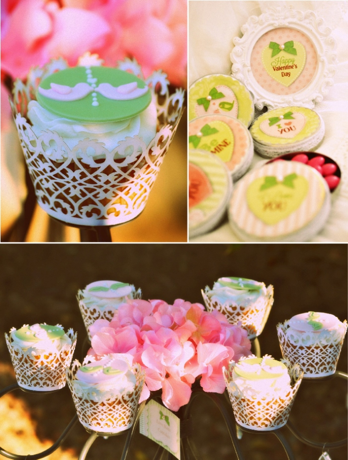 A Vintage Romantic Valentine's Day Party - via BirdsParty.com