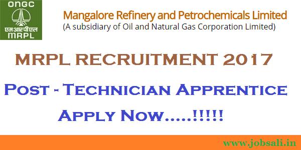 ONGC Recruitment 2017, ongc careers, mrpl apprentice recruitment 2017