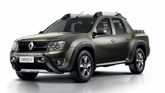 Renault Duster Oroch 4x4: versão já está sendo testada no Paraná