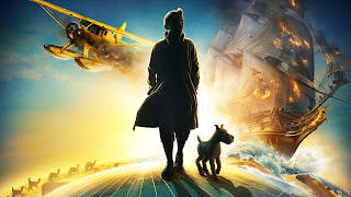 The Adventure of Tintin 3D Animation Movie Poster