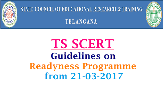 Rc 615 SCERT Telangana Certain Guidelines on Academic Activities after SA II | Director State Council for Education Research and Training Hyderabad Telangana instructions regarding Academic aspects after completion of Summative Assessment in Telangana State Schools | Academic Activities to be followed by the teachers after SA II in Schools | Suggested Action Plan for Remedial Teaching | School Readyness Programme from 21.03.2017 to 23.04.2017 | Time Table for Readyness Programme | Rc 615 SCERT Telangana Certain Guidelines on Academic Activities Readyness Programme Action Plan after SA II rc-615-scert-telangana-certain-guidelines-action-plan-readyness-programme-academic-calendar-2017-18/2017/03/rc-615-scert-telangana-certain-guidelines--academic-activities-action-plan-readyness-programme-2017-2018.html