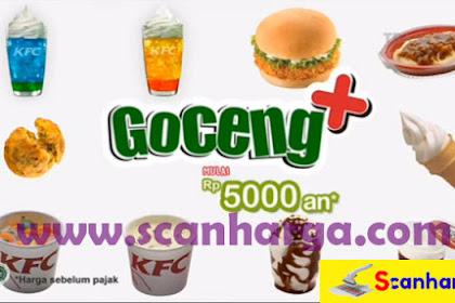 Promo KFC GOCENG PLUS + Hematnya Pas Harga Mulai 5 Ribuan