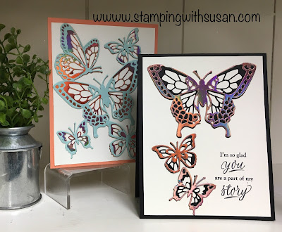 Stampin' Up!, Butterfly Abound, Big Shot, www.stampingwithsusan.com, Part of My Story