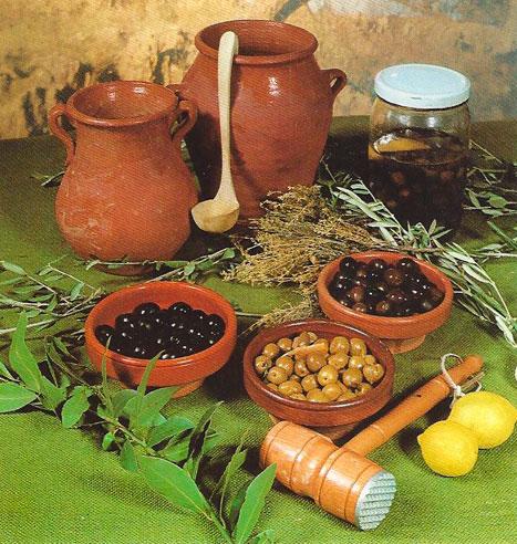 modo de preparar las aceitunas