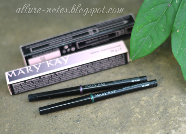 Новые карандаши для глаз Mary Kay Eyeliner оттенки Plum, Jade