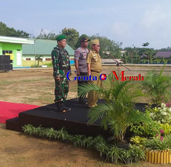 Antisipasi Pengamanan, Pemkab Mesuji Bersama Polres-TNI Gelar Apel Pasukan