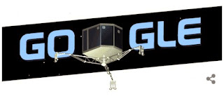 robot aterizare cometa google