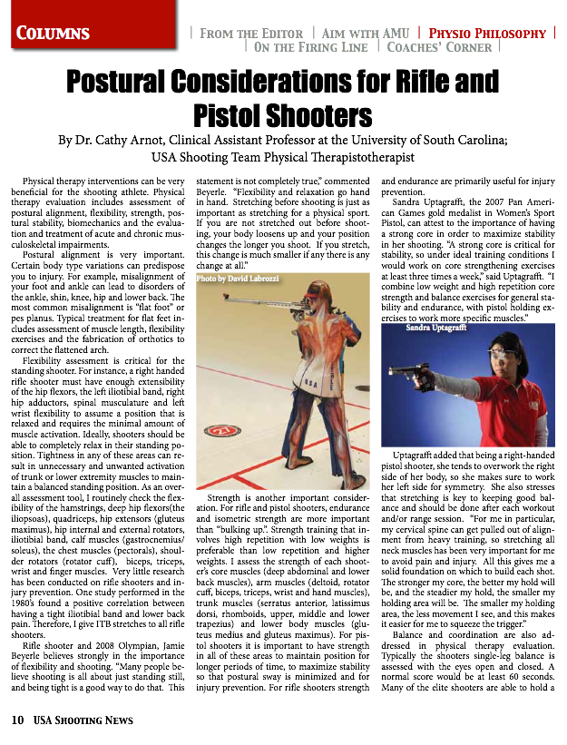 3P Air Rifle Coaching: Shooter Development