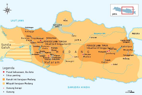 Kerajaan Medang pada Periode Jawa Tengah dan Jawa Timur