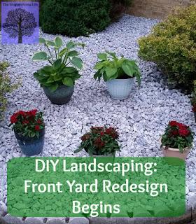 front yard, redesign, landscaping, DIY