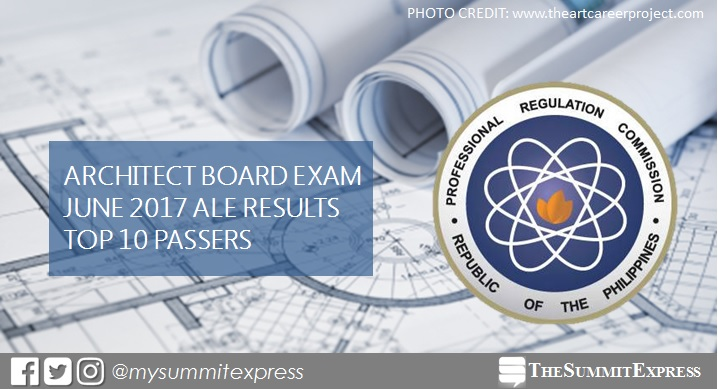 SLU grad tops June 2017 Architect board exam (ALE)