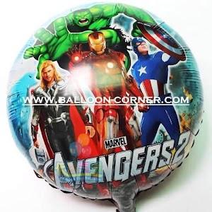 Balon Foil Bulat AVENGER 2