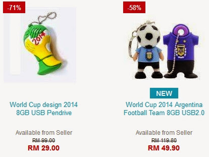 World Cup 2014 Flash Drive Promotion