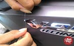 Cara Mudah Mencopot Emblem Motor Honda Vario 150