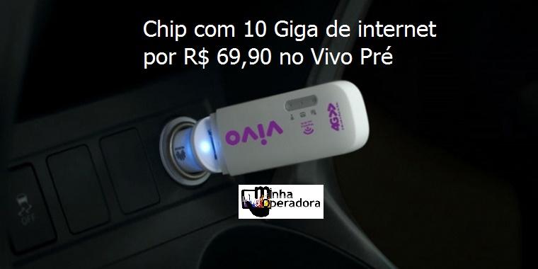 Chip com 10GB de internet por R  69 a68771dbb4c6