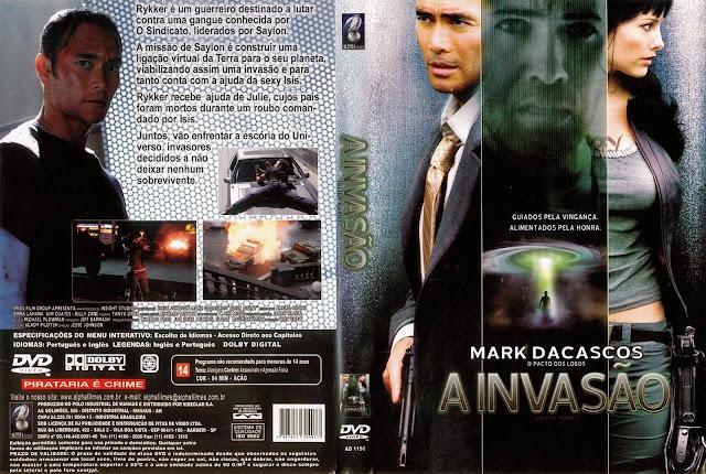 Capa DVD A Invasão