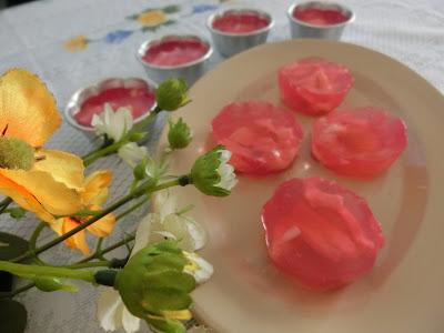 Resipi agar-agar berperisa ros sedap makan ketika cuaca panas
