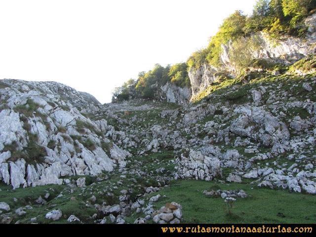 Ruta Ercina, Verdilluenga, Punta Gregoriana, Cabrones: Jito en el camino