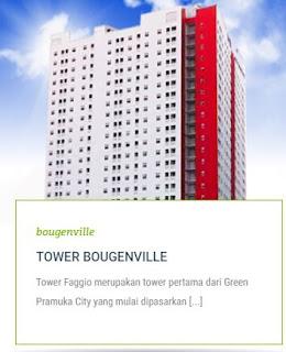 TOWER BOUGENVILLE Apartemen Green Pramuka City