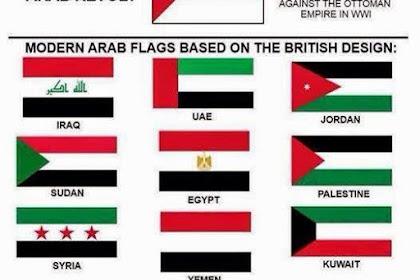 Sejarah Dan Alasan Mengapa Bendera Negara Timur Tengah Hampir Sama