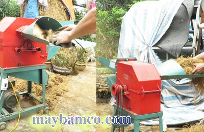 Máy băm xơ dừa