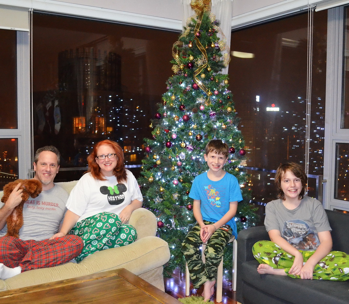 Every December for as long as I can remember our friend Miss Amy has thrown  a family Christmas Pajama Party on a Sunday afternoon. 2f43a805e