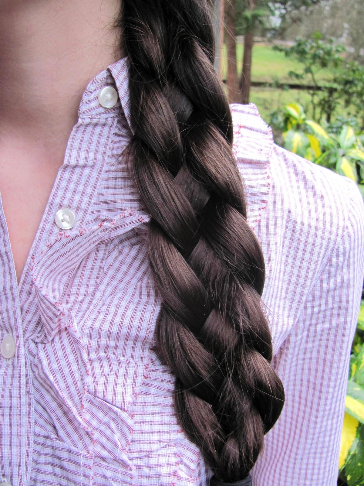 Vivi K: Hair: The four strand braid