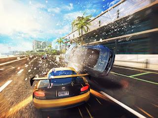 Seri asphalt yang paling fun dan punya banyak sekali elemen action Asphalt 8 : Airborne apk + obb