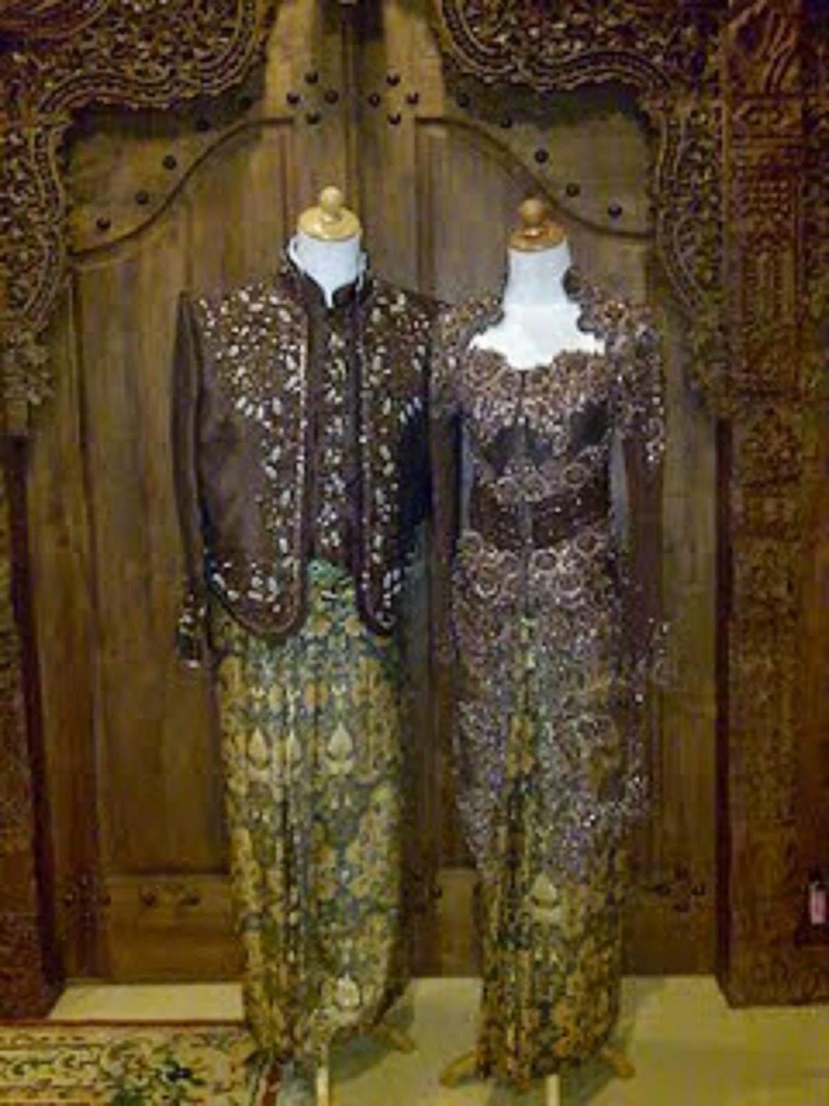 Foto Kebaya Pengantin: Kumpulan Foto Model Baju Kebaya Pengantin Sepasang
