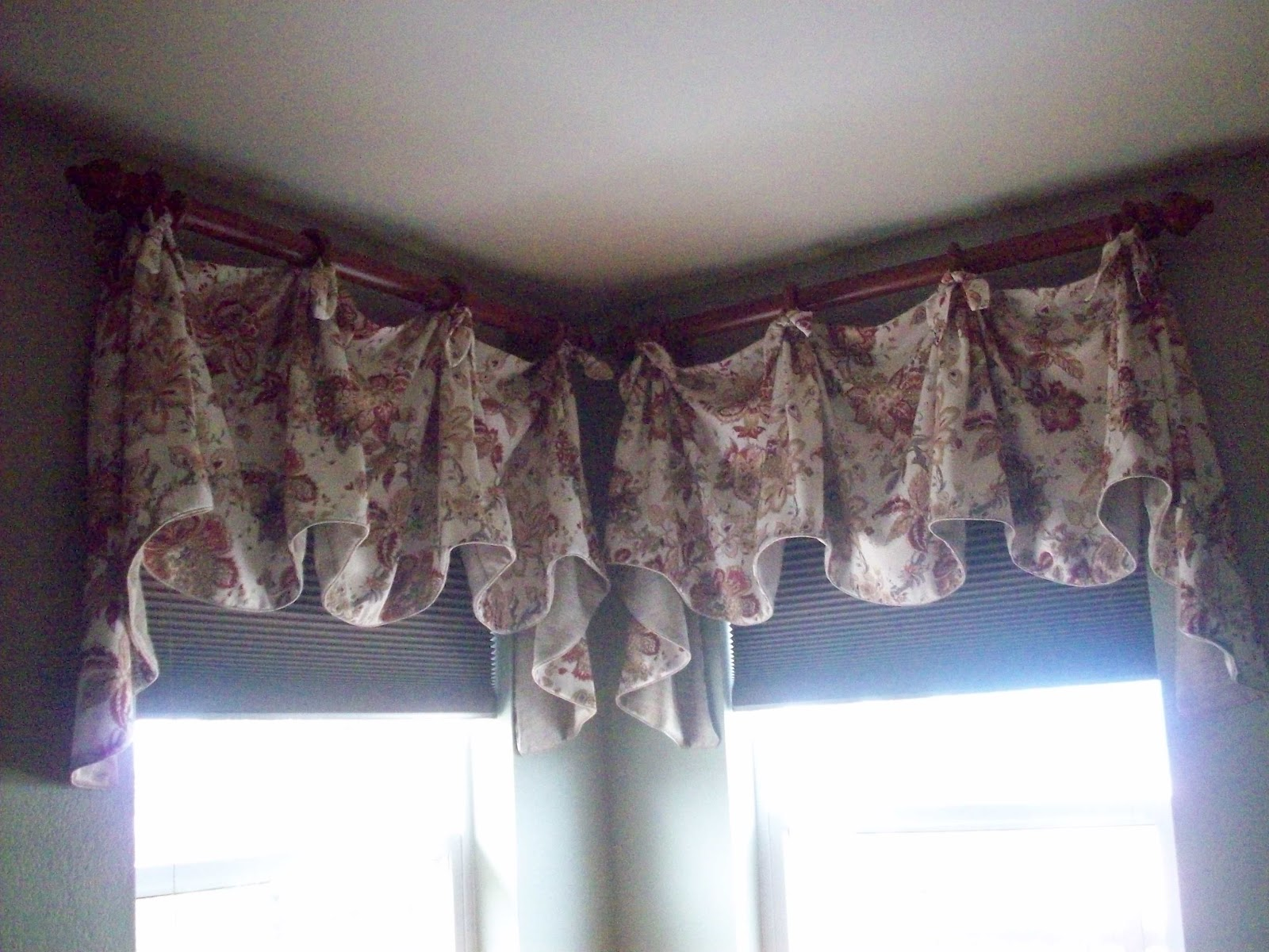 Karen Anns Window Treatments Corner Windows