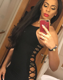 Fans attack BB Naija's TBoss for wearing skin baring dress to an after party