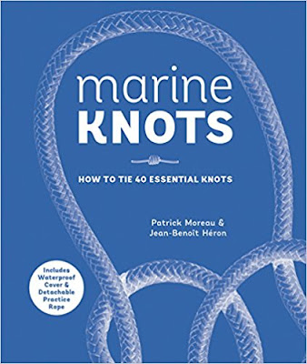 Bea's Book Nook, Review, Marine Knots How to Tie 40 Essential Knots, Patrick Moreau, Jean-Benoit Heron