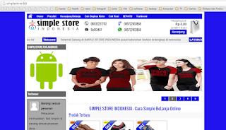 PAKET WEB TOKO ONLINE