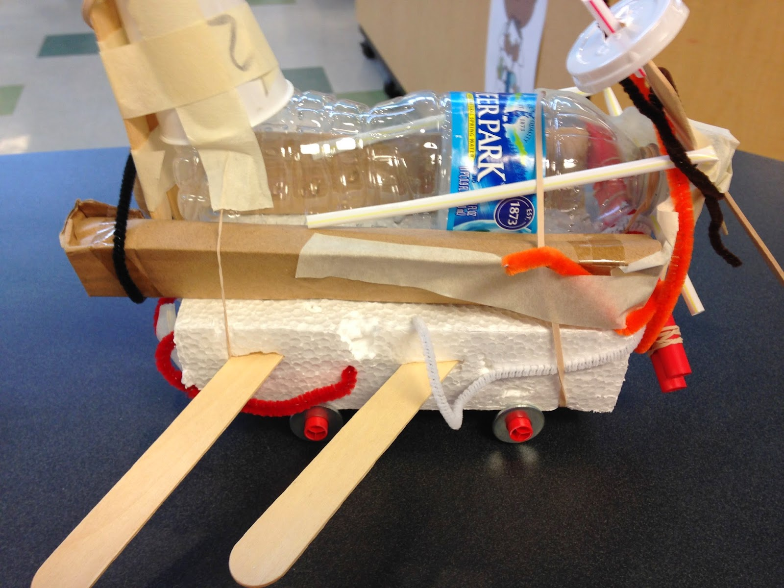 STEM Challenge: All about building a car that rolls using some basic and simple materials.