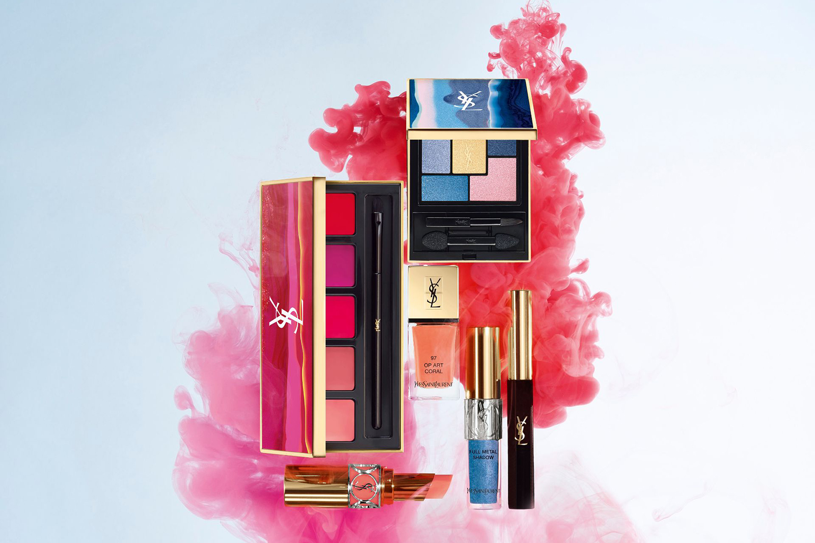 ysl maquillage printemps spring 2017